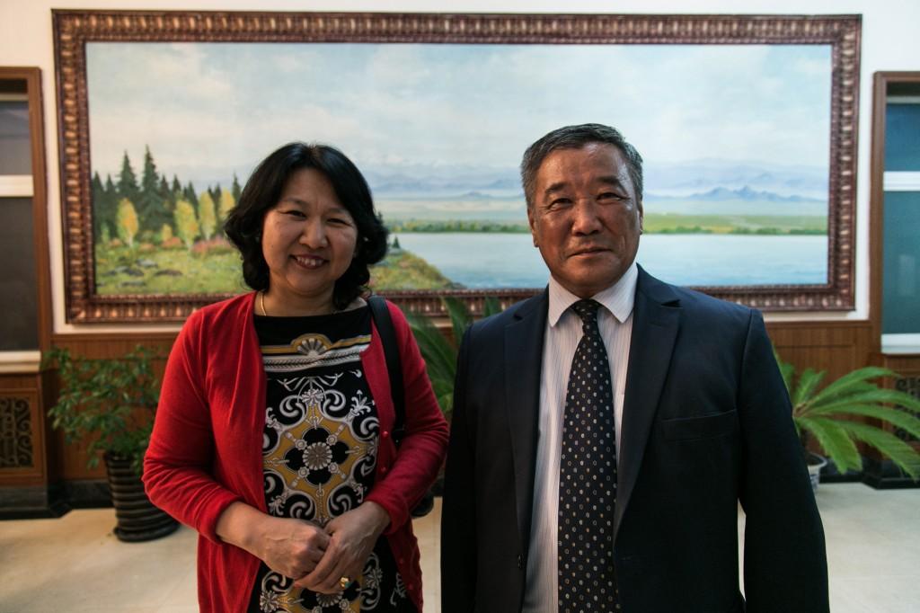 Oyunchimeg and Khurenbaatar
